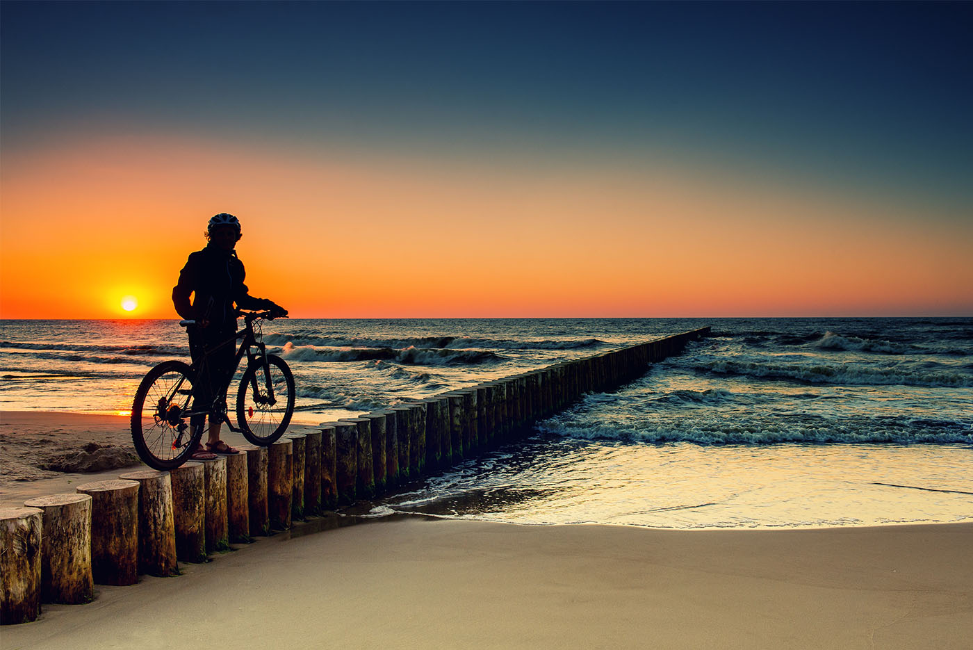 Radtouren Auf Dem Darß