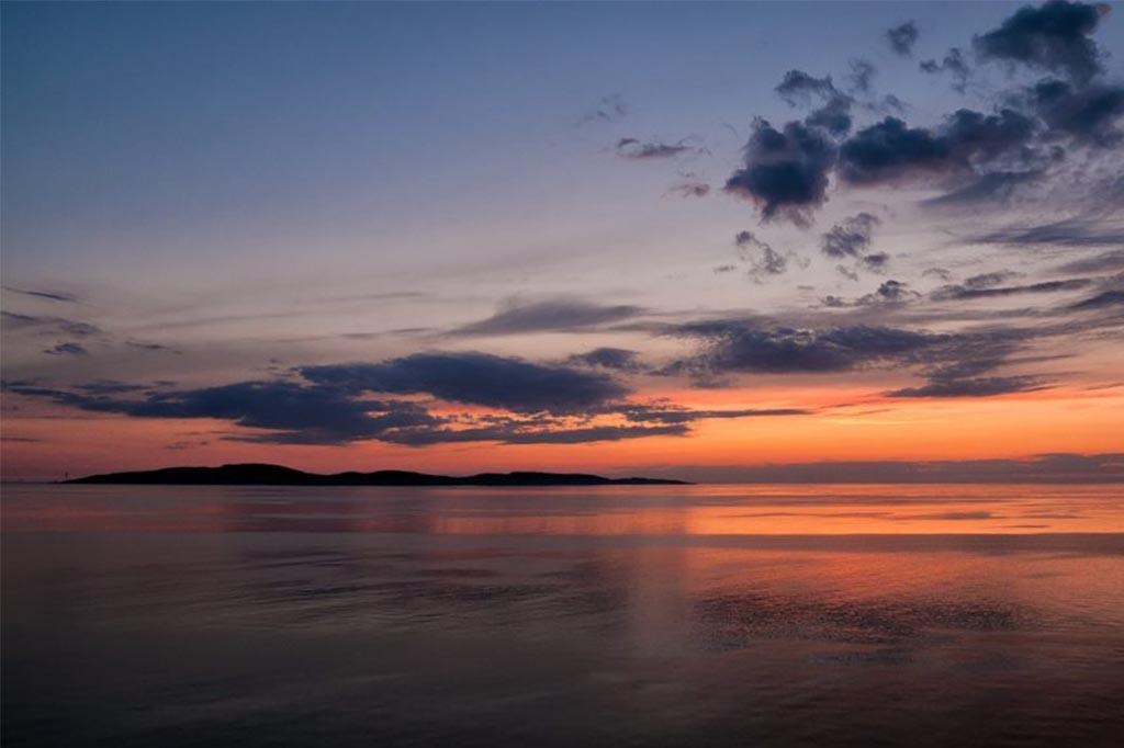 Insel Bock – Eine Sandbank Vor Dem Darß